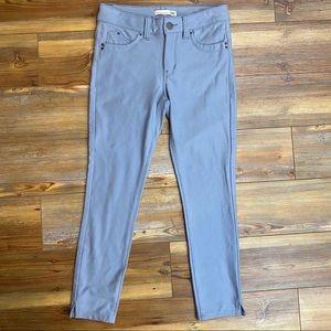 YMI Wannabettabutt Grey Stretch Pants Junior  Sz 5